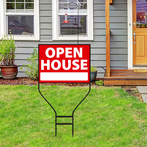 24 x 18 Double-sided Deluxe Real Estate Yard Sign