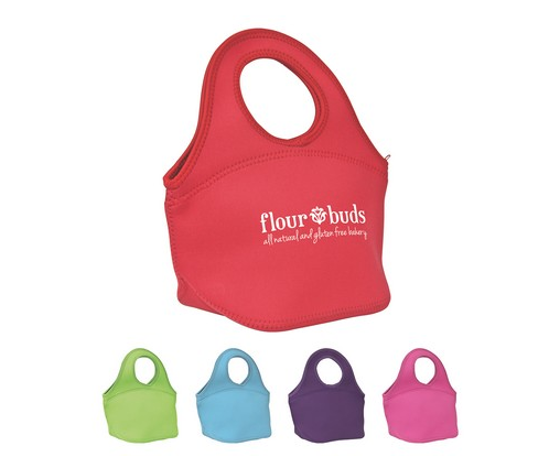 Starting at $9.89 ea 50-Easy Carry Zippered Neoprene Lunch Bag