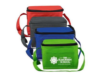 """Starting at $2.45 ea 100-""""Cool-It"""" Non-Woven Insulated Cooler Bag"""