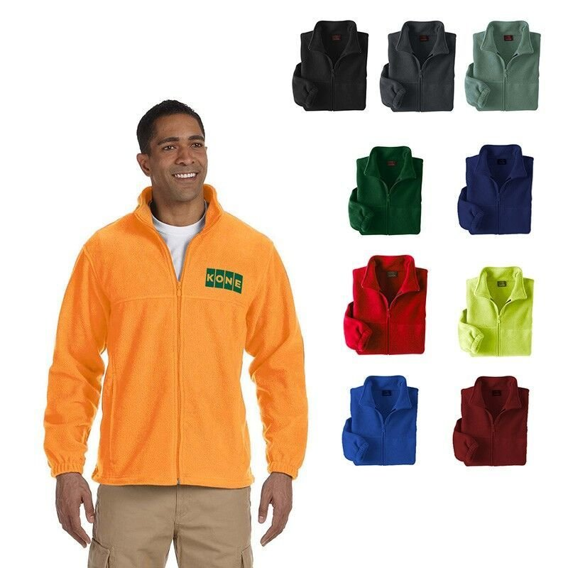 Starting at $40.00 ea Harriton® Men's 8 oz. Full-Zip Fleece