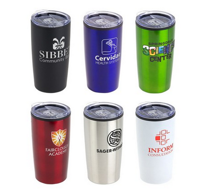 Starting at $5.90 ea 50-20 Oz. Olympus Stainless Steel/PP Tumbler
