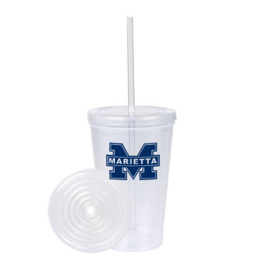 Starting at $2.47 ea 60-16oz. Double Wall Tumbler Travel Cup w/Straw