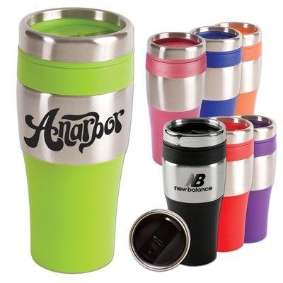 Starting at $3.95 ea 150-16 oz. Silver Streak Tumbler Mug