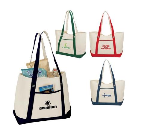 Starting at $11.49 ea 50-Tuscany Natural Canvas Tote Bag