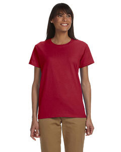Gildan Ladies' Cotton 6 oz. T-Shirt (Item G200L)