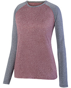 Ladies' Kinergy Two-Color Long-Sleeve Raglan T-Shirt (Item 2815)