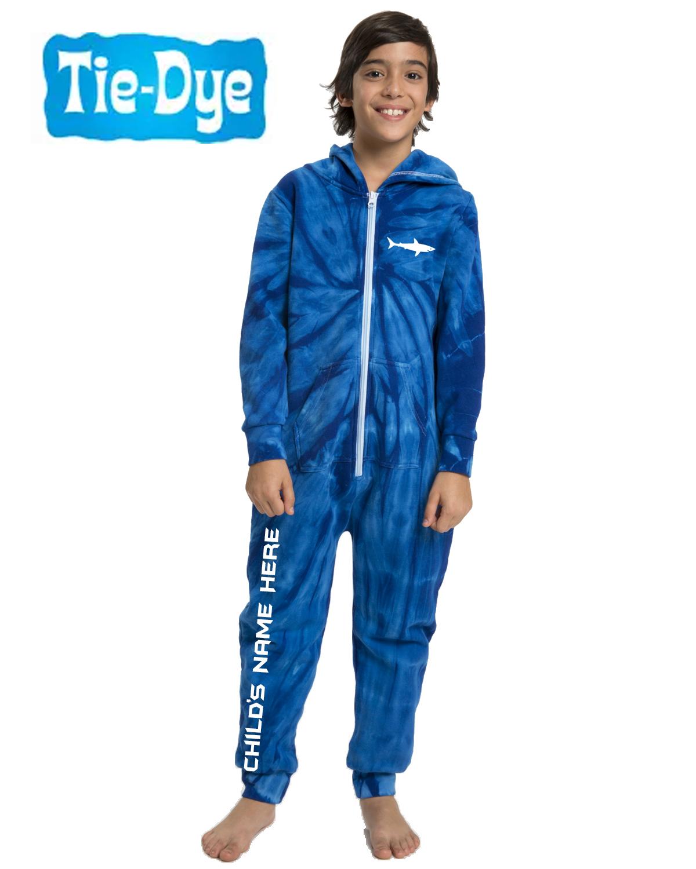 Tie-Dye Personalized Youth Onesie