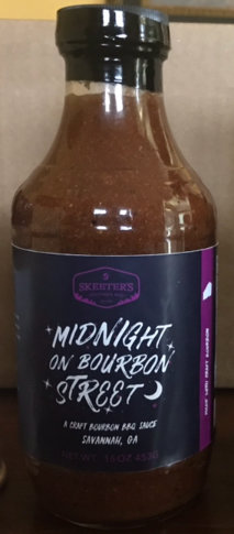 Midnight on Bourbon Street, A tomato based bourbon bbq sauce 00000
