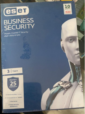 25 User, 3 Year, ESET Business Security