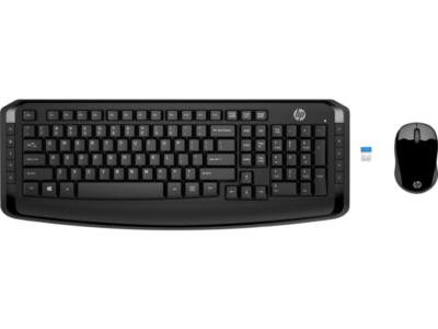 HP 300 Wireless Keyboard and Mouse