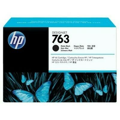 HP 763, 775ml, Ink Cartridge, Matte Black , CN072A