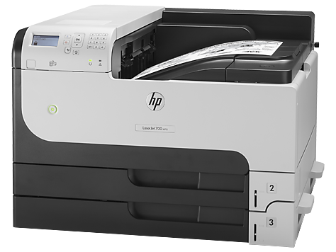 HP M712dn Color Single Function Laser Printer, CF236A