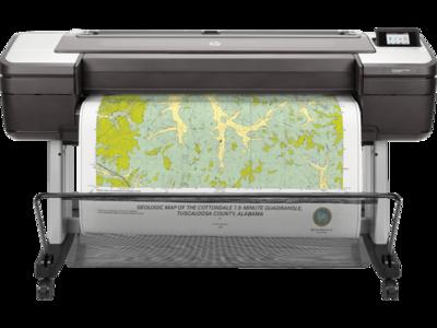 HP DesignJet T1700 44-in PostScript Plotter Printer