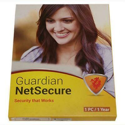 1 User, 1 Year, Guardian NetSecure Antivirus