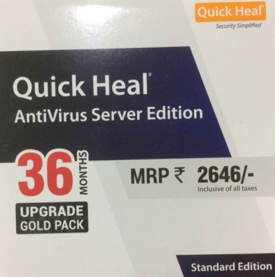 Renewal, 1 Server, 3 Year, Quick Heal Server Edition