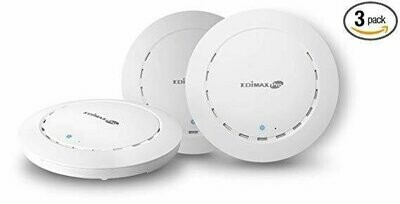Edimax Office 1-2-3 AC1300 Ceiling-Mount Access Point 3-Pack