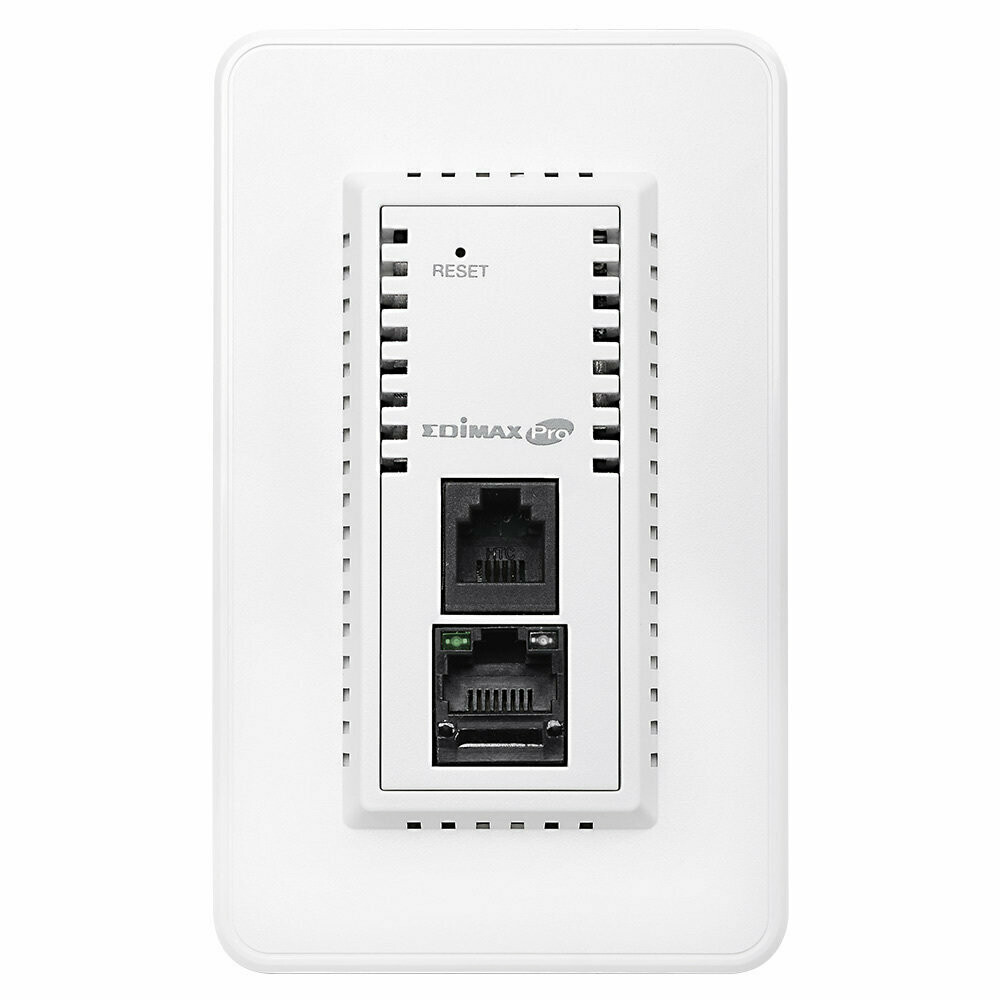 Edimax, IAP1200, Dual-Band In-Wall PoE Access Point