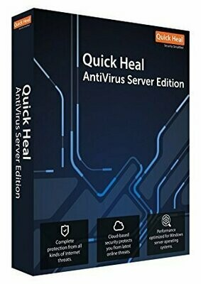 1 Server, 3 Year, Quick Heal Server Edition