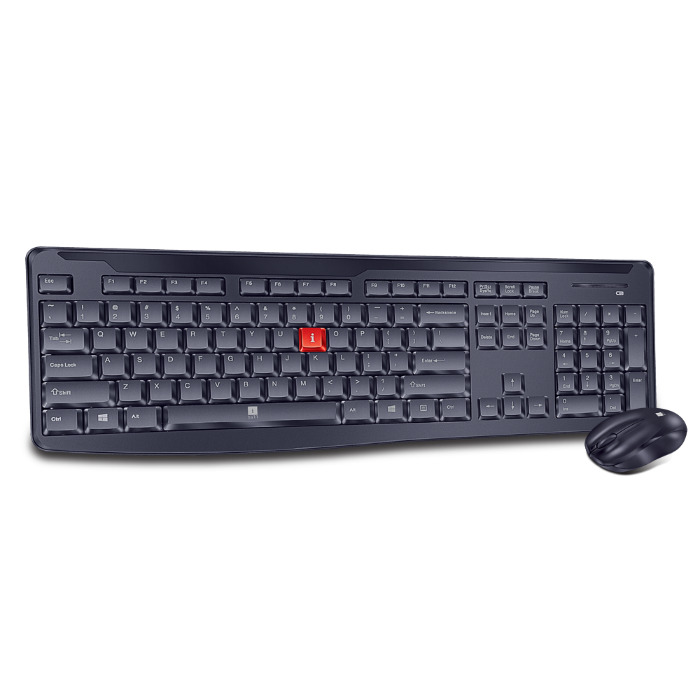iBall Silent Wireless Keyboard Mouse