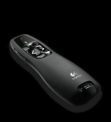 Logitech R400 Wireless Presentation Remote with Laser Pointer