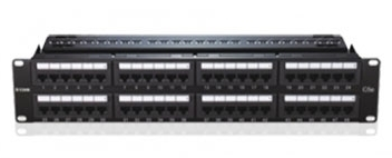D-Link 48-Port Patch Panel Fully Loaded