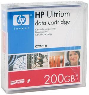 HP LTO 1 Ultrium Data Cartridge, C7971A