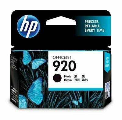 HP 920 Ink Cartridge, Black
