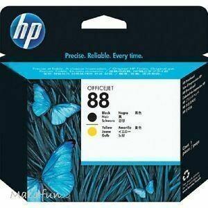 HP 88 Black & Yellow Printhead