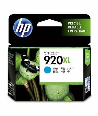 HP 920 XL Ink Cartridge, Cyan