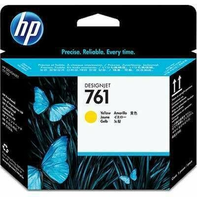 HP 761 Yellow Printhead , CH645A