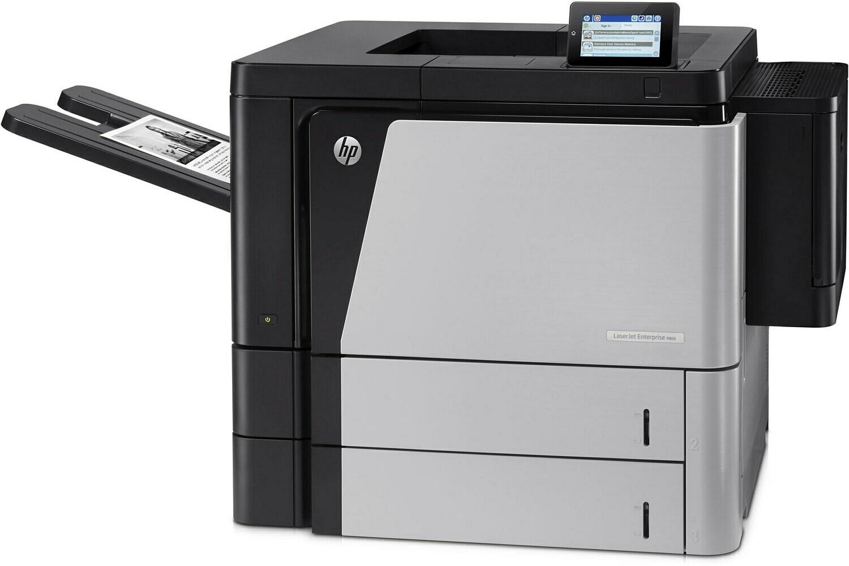 HP M806dn Single Function Laser Printer