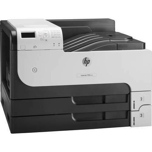 HP M712n Color Single Function Laser Printer, CF235A