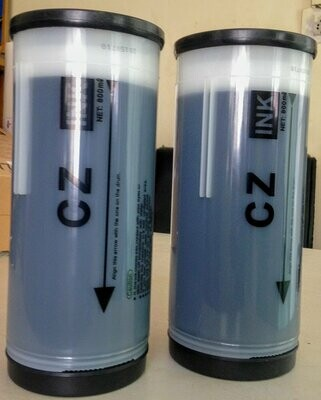 for in Riso Series CZ Digital Duplicator Black Ink, 2-Pack