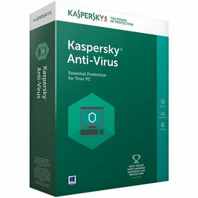 3 User, 3 Year, Kaspersky Antivirus