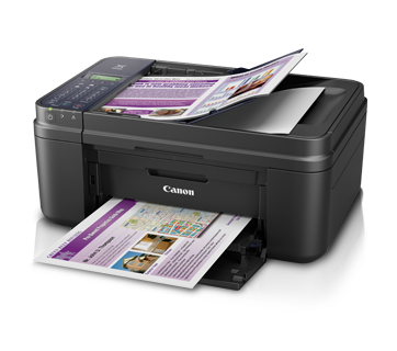 Canon E480 Color All in One Inkjet Printer, PSC, F, A, W