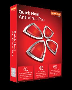 2 User, 3 Year, Quick Heal Antivirus Pro