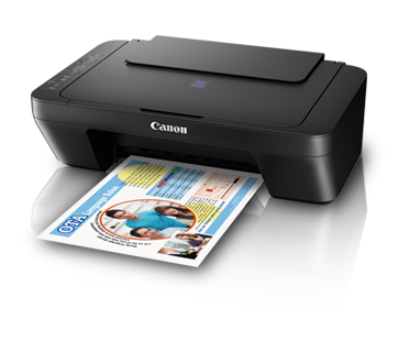 Canon E470 Color All in One Inkjet Printer, PSC, Wifi