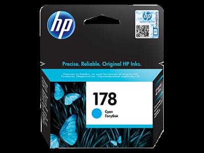 HP 178 Ink Cartridge, Cyan