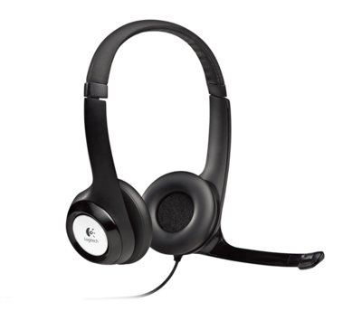 Logitech H390 USB Headset with Noise-Cancelling Mic