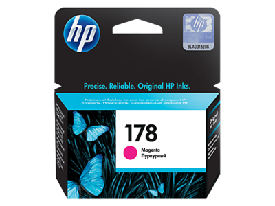 HP 178 Ink Cartridge, Magenta