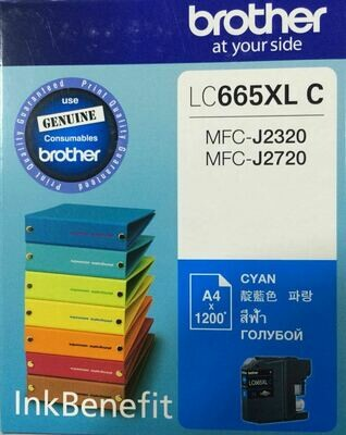 Brother LC665XL Ink Cartridge, Cyan