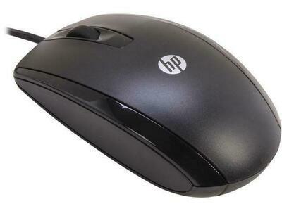 HP 3 Button Optical Mouse
