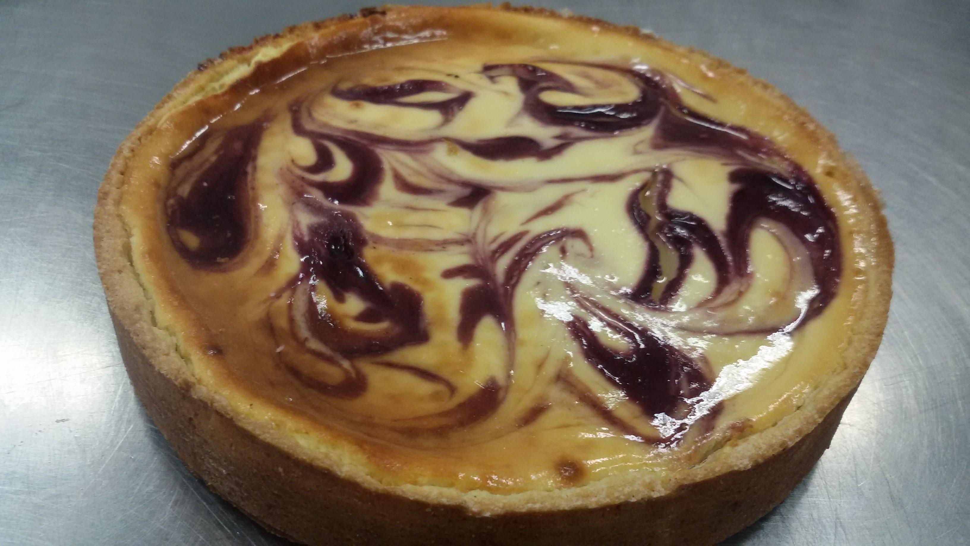 Cheesecake punt