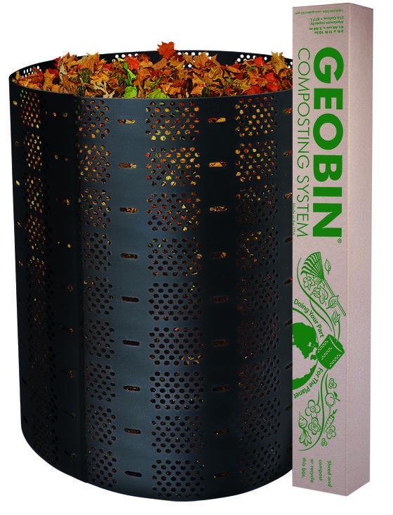 GeoBin Open Composter and Leaf Corral (Retail Value $50.00)