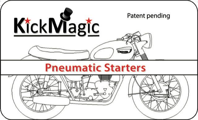 KickMagic Triumph Pneumatic Starter Kit for 1975-1979 OIF 750's KM TOIF-7579