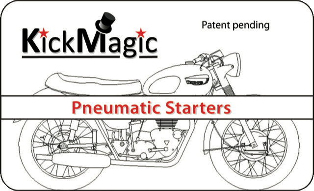 KickMagic Triumph Pneumatic Starter Kit for 1963-1967 650's KM T650-6367