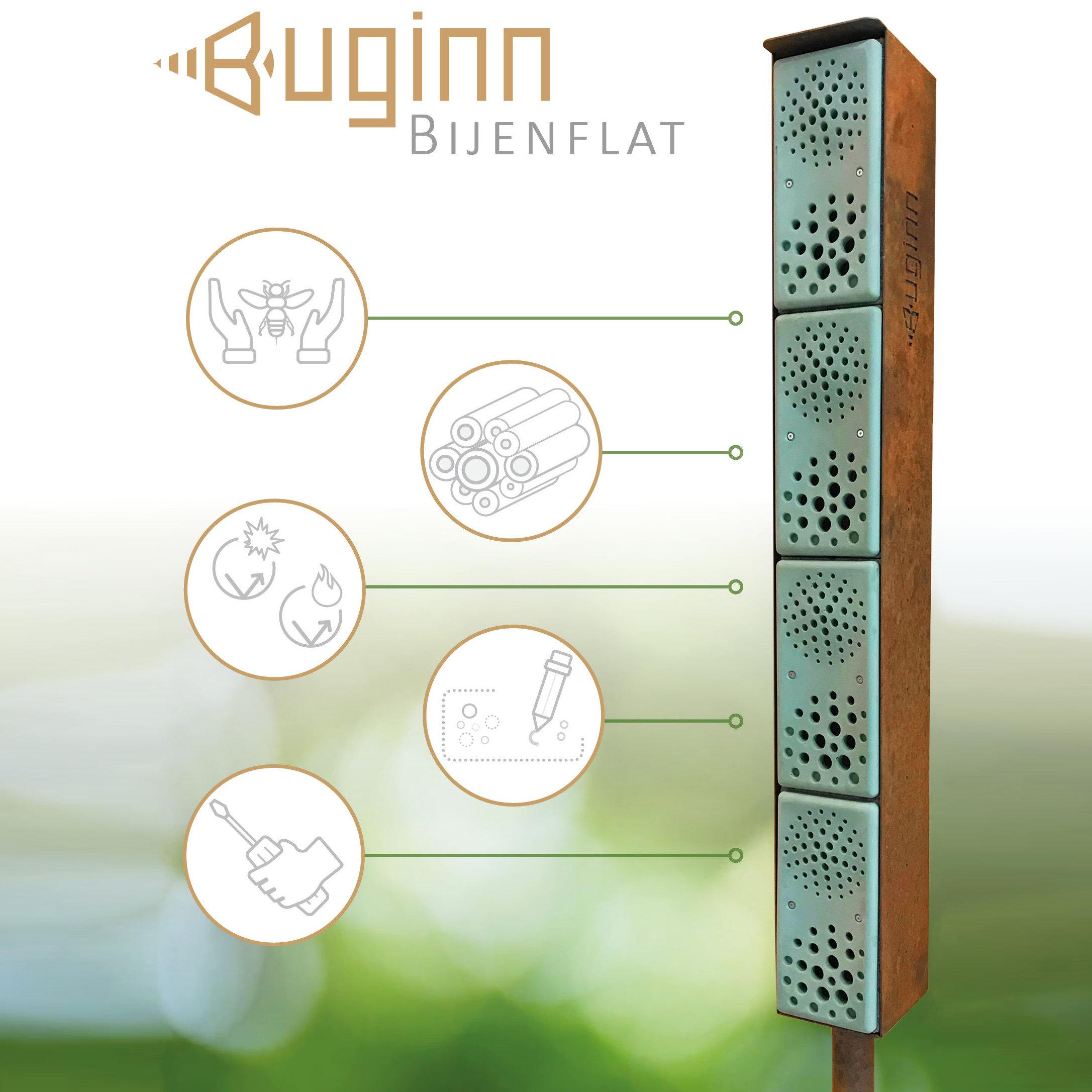 Buginn | Bijenhotel - BijenFlat 00004