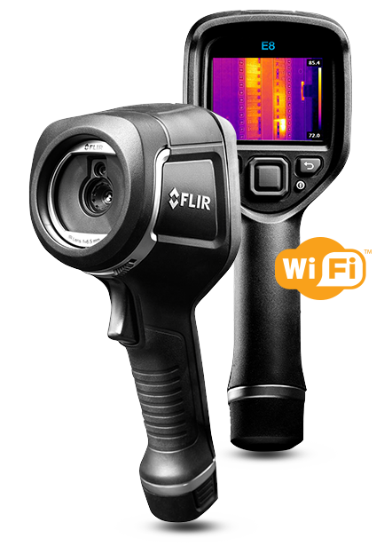 Flir E8 IR Camera with MSX FLIRE8