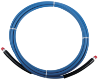 "High Pressure Solution Hose - 1/4"" x 100' - Blue 100'EAGLE HOSE"