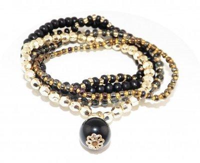Bracelet multiple black